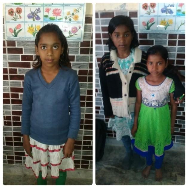 Kajal, Indu and Kashish