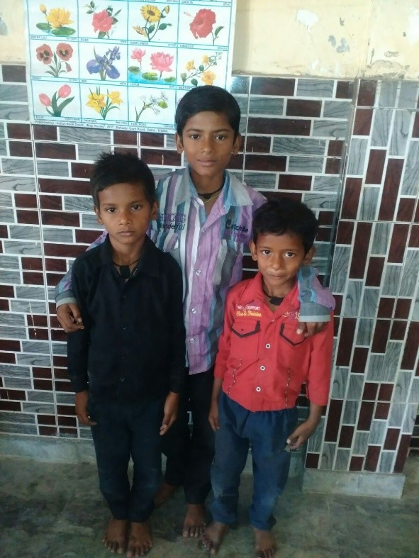 Sonu , Harish and Manish